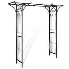 Metal Arches And Pergolas by Garden Wedding Rose Arch Pergola Archway Flowers Climbing Plants