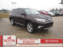 2013 toyota highlander limited for sale used 2013 toyota highlander limited v6 for sale in pine bluff ar