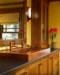 bathroom sink hammered copper farm sink double sink vanity drop