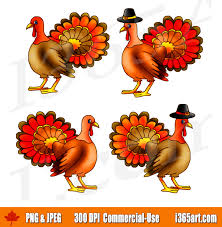 thanksgiving turkey clipart set live turkey graphics i 365