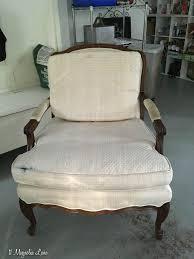 velvet covered bergere chair 11 magnolia lane