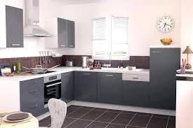 cuisine gris anthracite modele cuisine grise stunning meuble de cuisine gris anthracite
