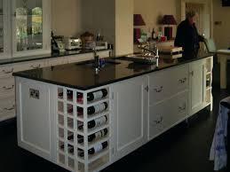 kitchen island wine rack the kitchen islands with wine racks add wine storage all about