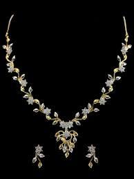necklace set american diamond necklace set c122 rj21 cilory