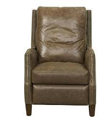 high back leather recliner chair belle high leg push back recliner