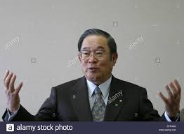 toyota motor corporation fujio cho chairman of toyota motor corporation tokyo japan