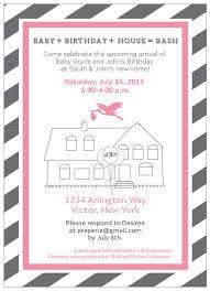 register for housewarming housewarming and baby shower invite gender reveal invitation