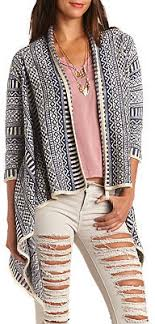 tribal sweater russe geo tribal cascade cardigan sweater where to buy