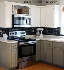 painting kitchen backsplash ideas painted kitchen backsplash ideas in budget home interior