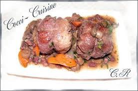 cuisiner les paupiettes de porc recette de paupiettes de porc à la bourguignonne