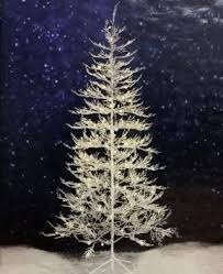 buy 7 ft winter white twig tree with led lights indoor outdoor