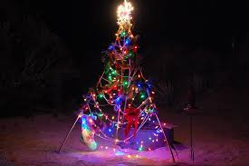 Outdoor Christmas Tree Made Of Lights by Dsc 0080 Bamboo Christmas Tree Jpg