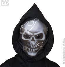 halloween skeleton mask buy grim reaper costume 3d skull mask costume mens