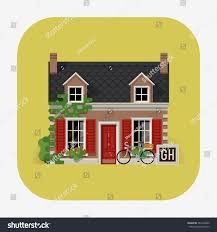 beautiful detailed lodging accommodation web icon stock vector