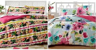 Macy Bedding Sets Macy U0027s 17 99 Reversible Comforter Sets 80 Value