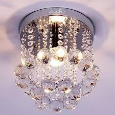 Cristal Chandeliers by Zeefo Crystal Chandeliers Modern Decor Mini Style 1 Light Ceiling