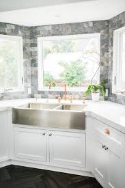 corner kitchen sink cabinet plans kitchen ideas with a corner sink hgtv