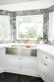 build corner kitchen sink cabinet kitchen ideas with a corner sink hgtv