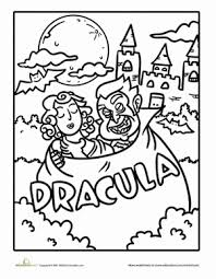 color count dracula dracula count dracula and worksheets