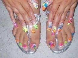 30 colorful nail designs acrylic nails 2017 best nail arts 2016