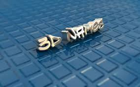 3d name wallpapers get your name in 3d for free sivakumar