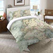 Map Quilt World Map Duvet Cover U2013 Laural Home
