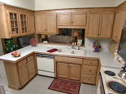 Restain Oak Kitchen Cabinets Easy Way To Refinish Kitchen Cabinets 2planakitchen