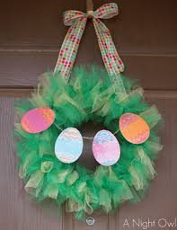 how to make easter wreaths 30 diy easter wreaths ideas for easter door decorations to make