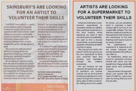 Looking For A Artist This Artist Had The Best Response When Sainsbury S Advertised An
