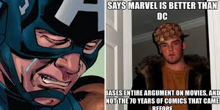 Meme Marvel - incredible memes that show dc is better than marvel screenrant
