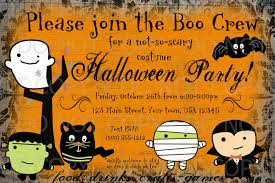 free printable halloween party invitations for your inspiration