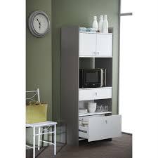 meuble de cuisine pour micro onde battery buffet micro ondes 70x175cm achat vente buffet bahut