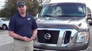 In Depth Look At The All New 2013 Nissan Nv Passenger Van