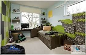 Room Games Decorating - minecraft game room decor minecraft themed bedroom decorating