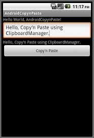 copy and paste android android er copy and paste using clipboardmanager