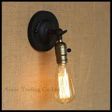 Pull Chain Sconce Cal Lighting La 60008wl 1bs Wall Sconce W On Off Push Switch One
