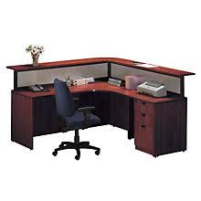 L Shaped Reception Desk Reception Desks W Savings You U0027ll Love Officefurniture Com