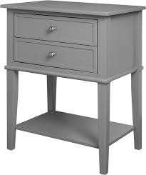 Accent Table With Storage 104 10 Amazon Com Altra Franklin Accent Table With 2 Drawers