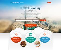 travel web images Benworldwide web design and development agency travel portal jpg