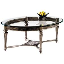 glass table for living room oval coffee tables leave your living room look more aesthetic