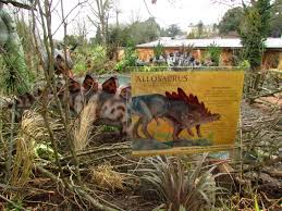 land of the living dinosaurs at the west midlands safari park