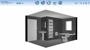 saninet easy 3d bathroom planner youtube