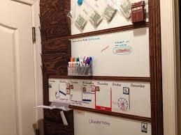 Entryway Wall Organizer by Ana White Magnetic White Board Organizer Wall Diy Projects