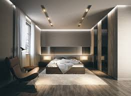 Master Bedroom Interior Design White Luxury Bedroom Interior Design White Table Lamp On Bedside Dark