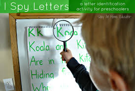 i spy letters a letter identification activity for preschoolers