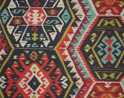 designer fabric kilim fabric etsy
