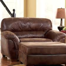 black leather club chair and ottoman overstuffed chairs and ottoman nice living room intended for