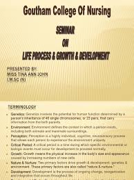 life process u0026 seminar on growth u0026 development adolescence