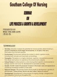 life process u0026 seminar on growth u0026 development adolescence