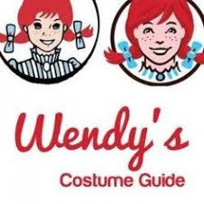 Wendy U0027s Costume Fast Food Restaurant Mascot Halloween